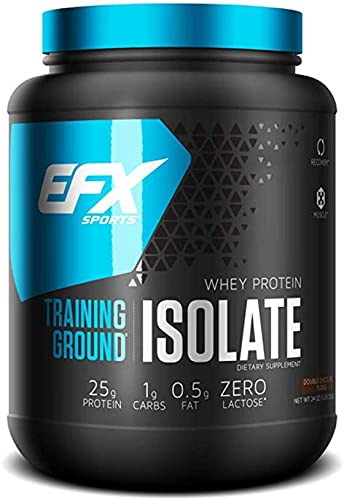 EFX Sports Training Ground Isolate, 1.5lbs Double Chocolate Fudge