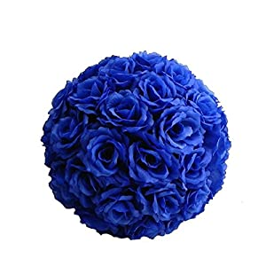 Jiangsheng Artificial Rose Flower Kissing Ball Wedding Party Home Decoration 29