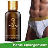 Tuu Big Sale!Male Enlargement Oil Big Penis Oil Essential Oil Pills Increase Sex Delay Mens Penis Care (Gold)