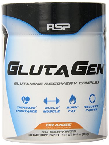 RSP Nutrition Glutagen Powder, Orange, 10.6 OZ (300 Gram)