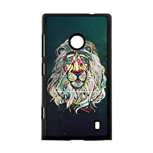 Canting_Good Lion Space Custom Case Cover Shell for Nokia Lumia 520 by lolosakes
