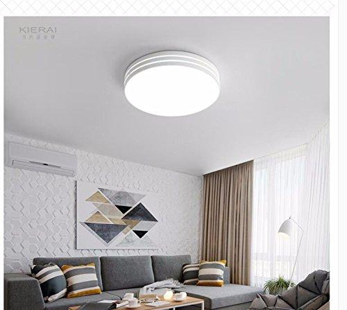 Lámpara De Techo Led Circular Sencillo, Salón, Dormitorio ...