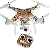 Skin For DJI Phantom 3 Standard – Deer Pattern   MightySkins Protective, Durable, and Unique Vinyl Decal wrap cover   Easy To Apply, Remove, and Change Styles   Made in the USA