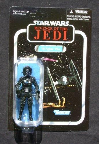 (2011 SDCC Exclusive Star Wars Revenge of the Jedi Death Star Tie Fighter Pilot VC65 MOC)