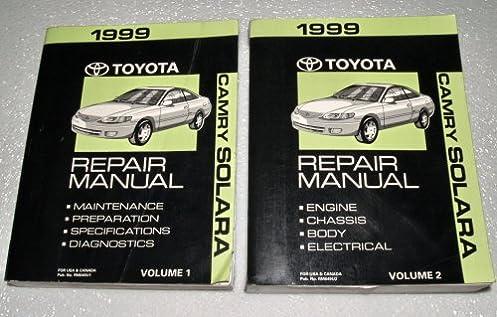 1999 toyota camry repair manual volume 2 toyota motor corporation rh amazon com 1999 toyota camry repair manual 99 camry repair manual pdf