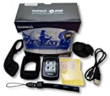 Garmin Edge 200 Cycling GPS Cycling Computer Bonus Bundle - Includes Edge 200, Out-Front Mount, Protective Silicone Case, 3 Screen Protectors, Tether / Lanyard, and More