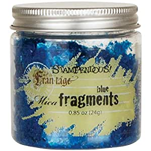 Stampendous Frantage Mica for Arts and Crafts, Blue
