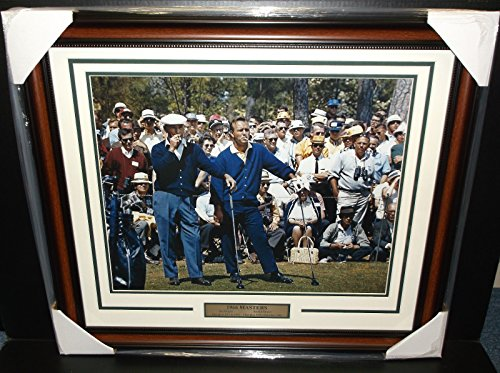 BEN HOGAN ARNOLD PALMER MASTERS CHAMPION 1966 GOLF LEGENDS 16X20 PHOTO FRAMED