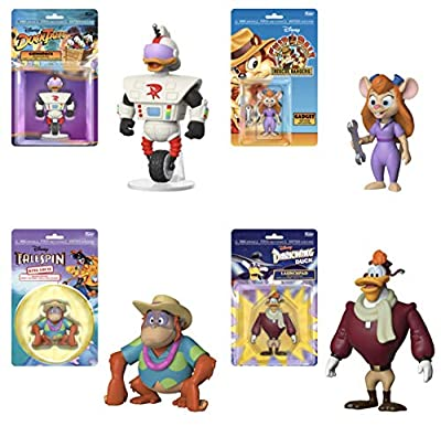 "Funko Disney Afternoons Series 2 Collectible Action Figures, 3.75"" (Set of 4)"