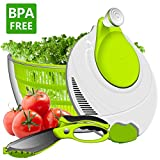 Best Salad Spinners - Salad Spinner, ANKO BPA Free Certified 4.2 Quart Review
