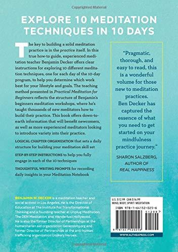 Buy meditation books for beginners