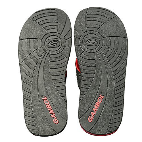 Gambol Mens Sandals Shoes - Zapp Style Red