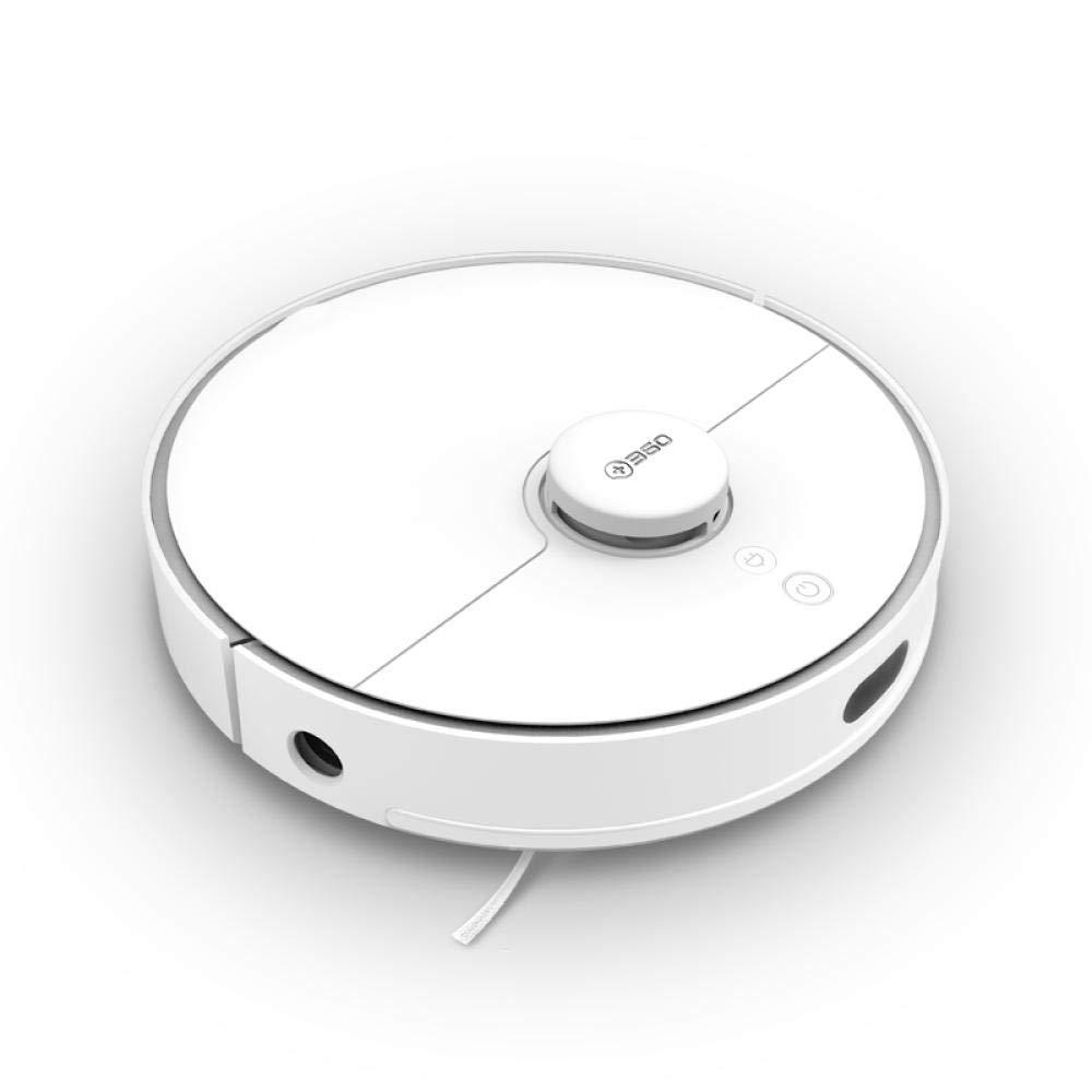 MaJJ Aspirador Hogar Robot, Auto-Carga, Diseño para La Limpieza De Pelos De Mascota Smart Home Navegación Láser Automática Navegación Láser Silenciosa: Amazon.es: Hogar