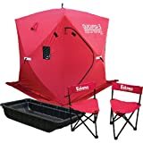 Eskimo Value Pack w/Quick Fish 3 Shelter and Accessories, Outdoor Stuffs