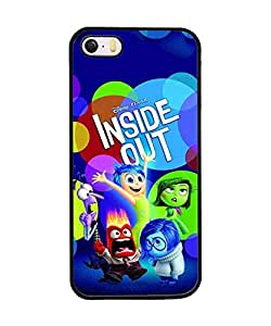 Inside Out Iphone 5 Funda Case ,Iphone 5s Funda Case Anime Apple Mirror Protective For Girls And Boys Cute Phone Shell For Iphone 5 5s