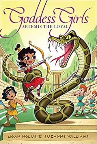 Ebook Artemis The Loyal Goddess Girls 7 By Joan Holub