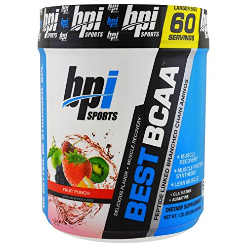 BPI Sports, Best BCAA. Fruit Punch, 1.32 lbs (600 g) - 3PC by BPI