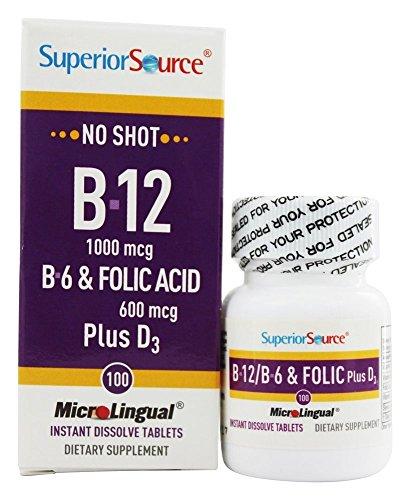 Superior Source B 12 Folic Vitamin product image