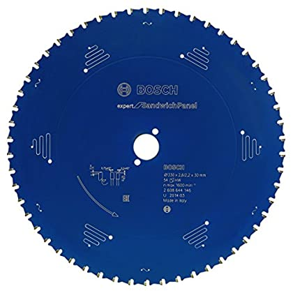 Image of Bosch 2608644147 EXSHH 13.98' x 30mm 80T Circular saw blade Top Precision Home Improvements