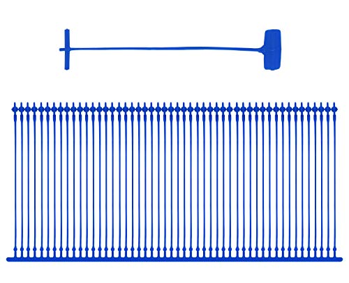 Amram 3 Blue Standard Attachments- 5,000 pcs, 50/Clip. for use with All Amram Brand Standard Tagging Guns. Compatible for use with Other Standard Tagging Guns. -