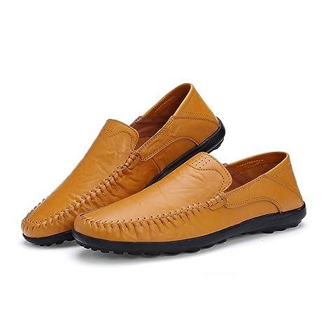 LANSHAY Originales Mocasines y zapatillas de conducción ...