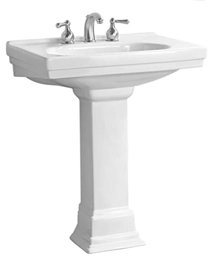 Pegasus FL 1950 4WH Structure 4 Inch Centerset Lavatory Sink Combo, White