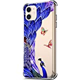 ikasus Case for iPhone 11,Clear Embossed...