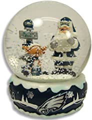 PHILADELPHIA EAGLES Official Logo Holiday Snow Globe
