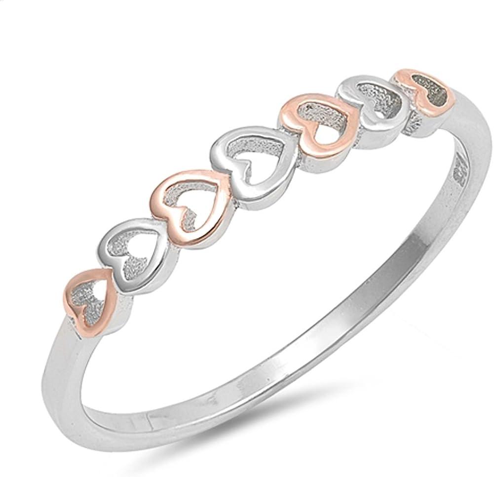 Les femmes de l/'infini nœud Fashion Anneau Nouveau .925 Sterling Silver Band Taille 4-10