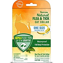 TropiClean Flea and Tick Repellent Collar for Cats