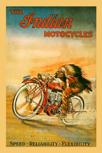 The Indian The Motocycles American Indian Motorcycle速度信頼性柔軟性自転車16 24