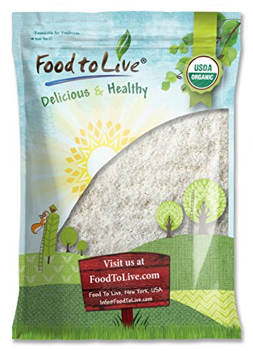Food To Live Organic Shredded Coconut (Desiccated, Unsweetened, Non-GMO, Kosher, Bulk) (4 - Foods Fancy List