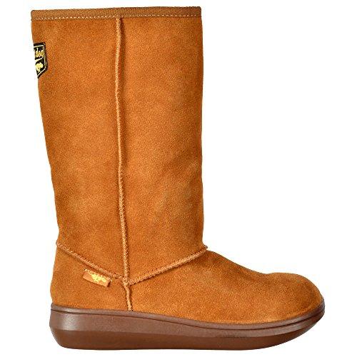Ladies Womens Sugar Chestnut Boot Classic Brown Calf Dog Black Winter Rocket High Daddy Chestnut Tribal xwqCStg