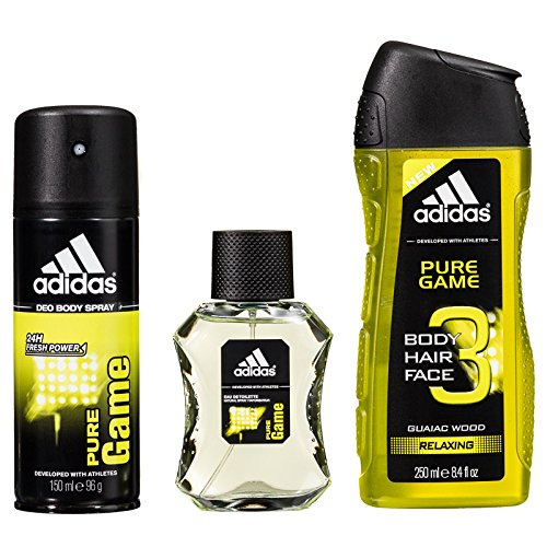 Homme DoucheDeodorant Coffret Adidas ShaveGel Game After Pure rdBWxQCoe