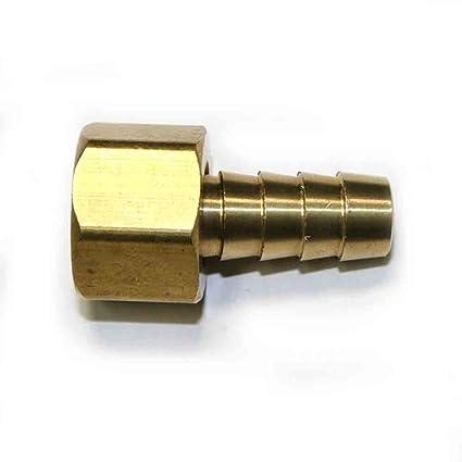 "Connector FFS166 Brass Hose Fitting 3//8/"" Swivel Barb x 3//8/"" Female NPT End"