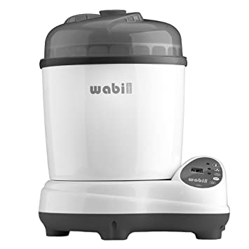 Wabi Baby Plus 3-in-1 Electric Baby Bottle Steam Sterilizer /& Dryer NEW