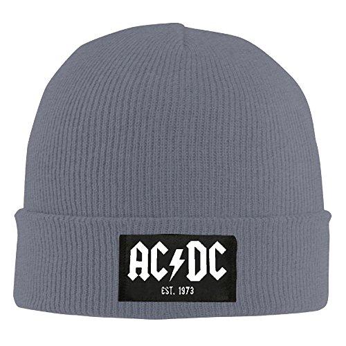 AC DC - Est. 1973 Cashmere Hat Winter Hats Winter 2016 Woolen Cap KnitCap BeanieHat ()