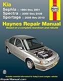 H54070 Haynes 1994-2001 Kia Sephia 2000-2009 Spectra 2005-2010 Sportage Auto Repair Manual