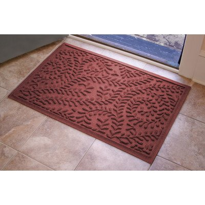Aqua Shield Boxwood Mat Size: 2' x 3', Color: Bordeaux