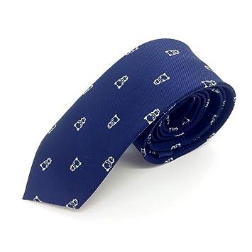 FDHFC Corbatas para Hombre Corbata Estrecha Corbata Negra 6Cm ...