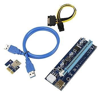 YOUQING Cable de alimentación para minería USB 3.0 PCI-E 1xa 16x ...