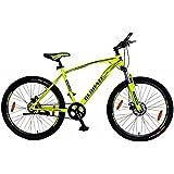 Kross Encod 27.5T 21 Speed Mountain Bike Bicycle, 69.85 cm (Matte Yellow)