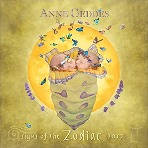 Anne Geddes 2017 Mini Wall Calendar: Signs of the Zodiac by Anne Geddes (2016-07-19)