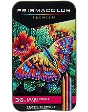 PRISMACOLOR PREMIER Pencil, Colored Pencils, Box of 36, Assorted (92885T)