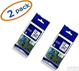 2 Value pack replacment TZ231 TZe231 black on white 1/2 Inch 26.2 Ft Laminated Tape for Brother P touch series Labeler