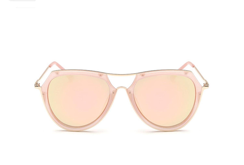 Wer Bin Ich Frau Retro-Brille Personalisierten Frosch Trimmen Metall Neue Sonnenbrille,Black