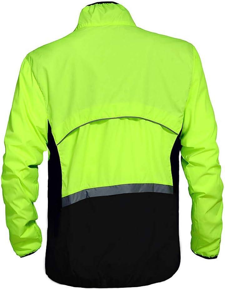 Sport Gr/ö/ße:,XXXL Wolfbike Fahrradjacke gr/ün//schwarz Herren Windjacke BC240-G- 00L Jersey Large Farbe:,Wei/ß lange /Ärmel