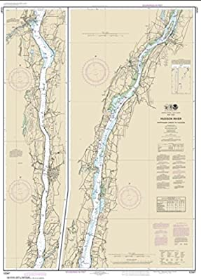 NOAA Chart 12347-Hudson River Wappinger Creek to Hudson