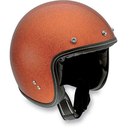 AGV RP60 Mono Open Face Motorcycle Helmet Metal Flake Orange MD/Medium 110154C00