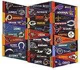Nfl Football 4 X 9 Mini Pennant Banner Flag 32 Team Complete Set Fan Cave